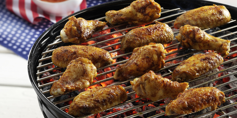 Mississippi BBQ Chicken Wings
