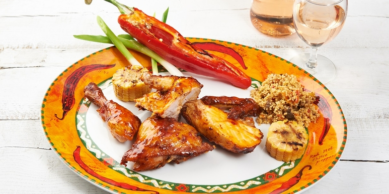 Piri Piri Chicken with Couscous salad