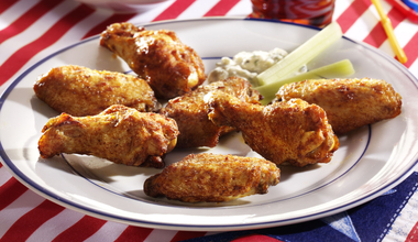 Hot & Spicy Chicken Wings